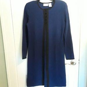 Dress// Liz Claiborne Colorblock Wool Blend